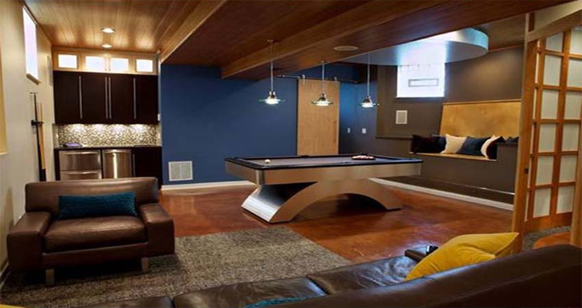 Basement Design Ideas with Various Style and Practical Implementation